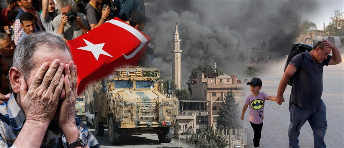Συρία: κόλαση με νεκρούς και χιλιάδες εκτοπισμένους