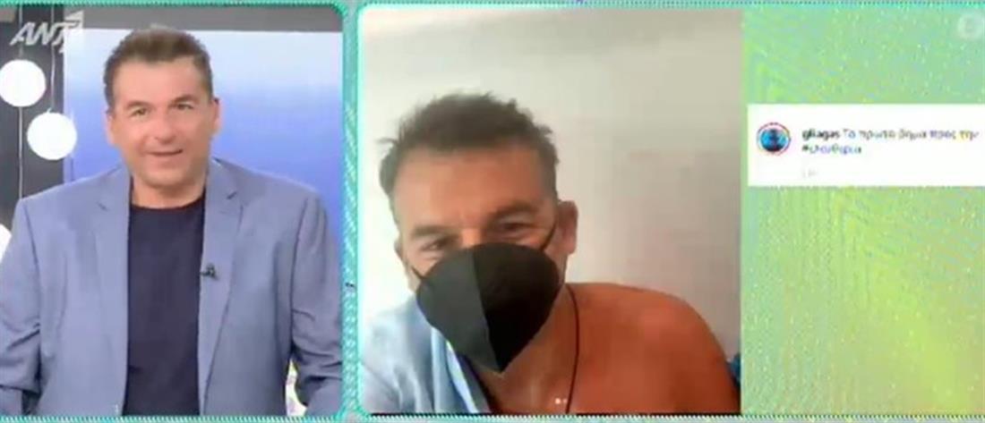 Γιώργος Λιάγκας: Έκανε και τη δεύτερη δόση κατά του κορονοϊού!