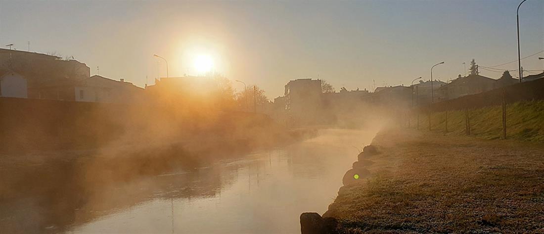 Τρίκαλα: Μοναδικές εικόνες από τον Ληθαίο ποταμό