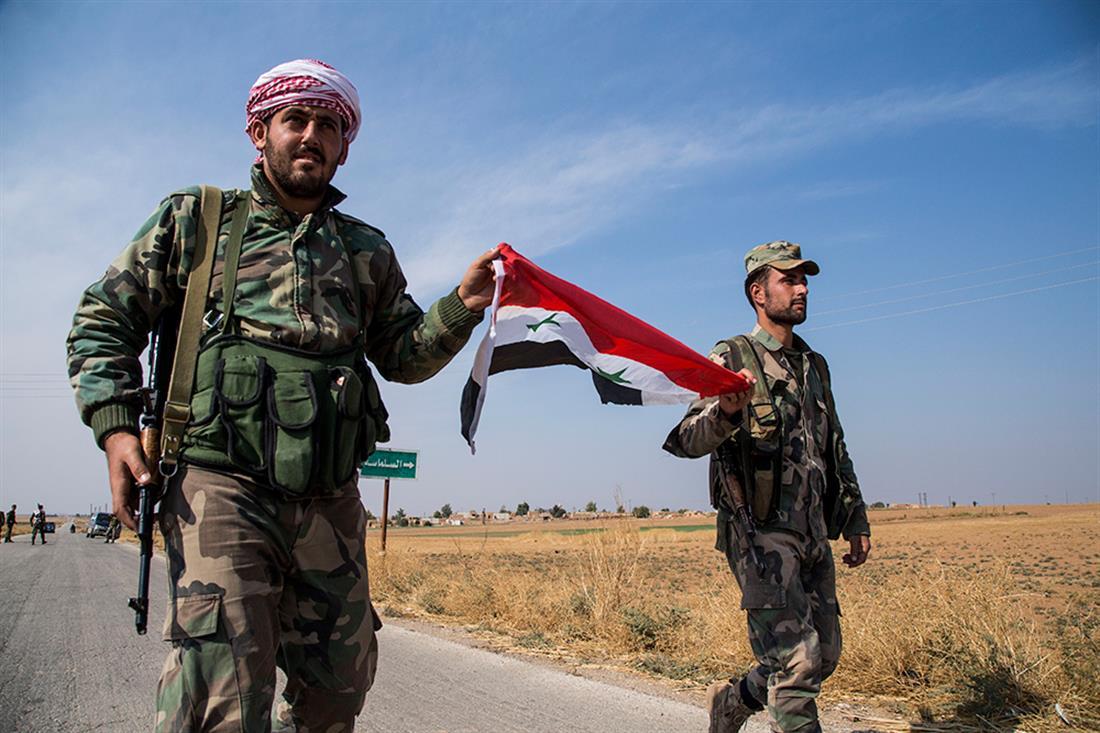 AP - Συρία - πόλεμος - στρατιώτες