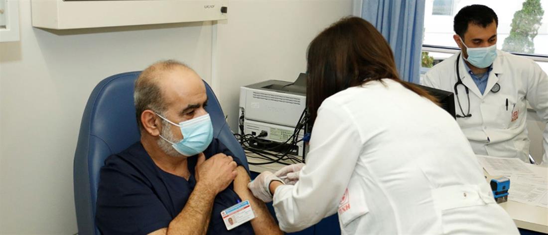 Ελλάδα - εμβολιο - κορονοϊός - υγειονομικοί