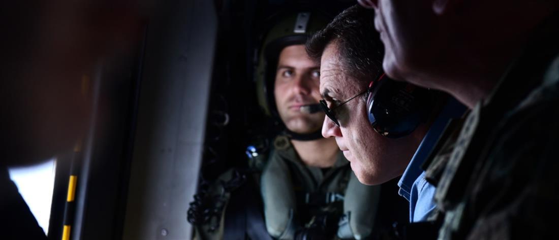 Παναγιωτόπουλος: Δεν νιώσαμε παρενόχληση, τα ελληνικά μαχητικά έδιωξαν τα τουρκικά