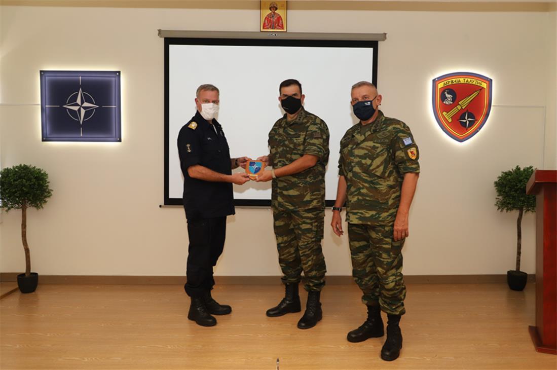 Κωνσταντίνος Φλώρος - Πεδίο Βολή Κρήτης - NATO Missile Firing Installation