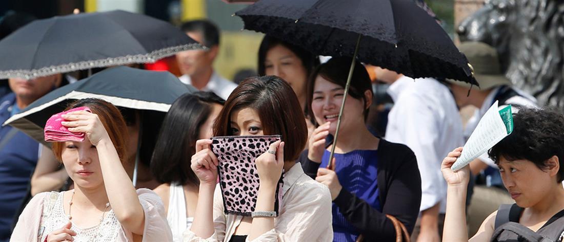 Φονικό κύμα καύσωνα πλήττει την Ιαπωνία