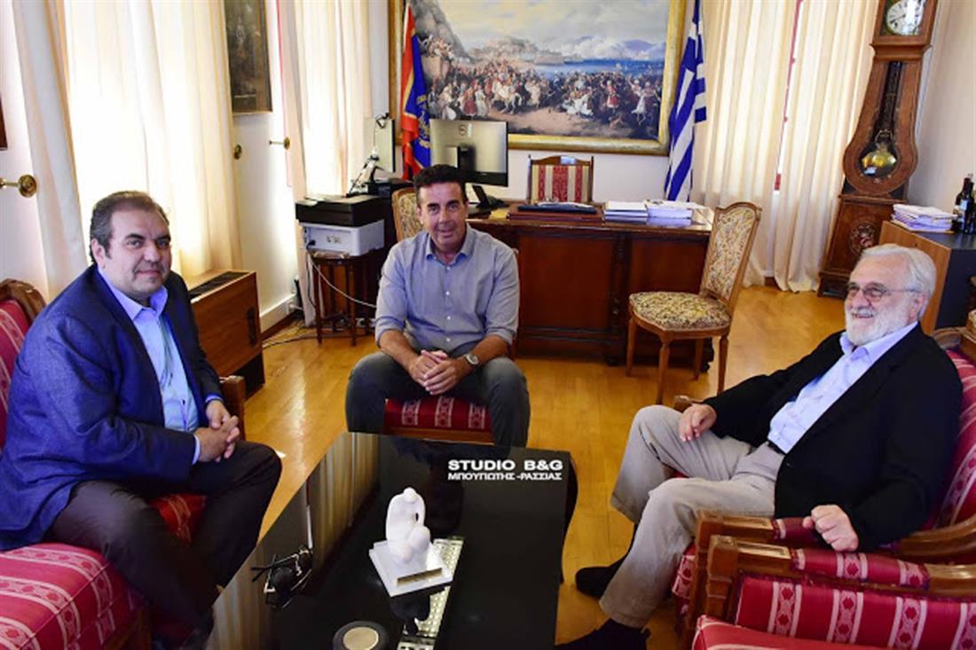 Γιάννης Σμαραγδής - Δημήτρης Κωστούρος - Κωνσταντίνος Δέδες