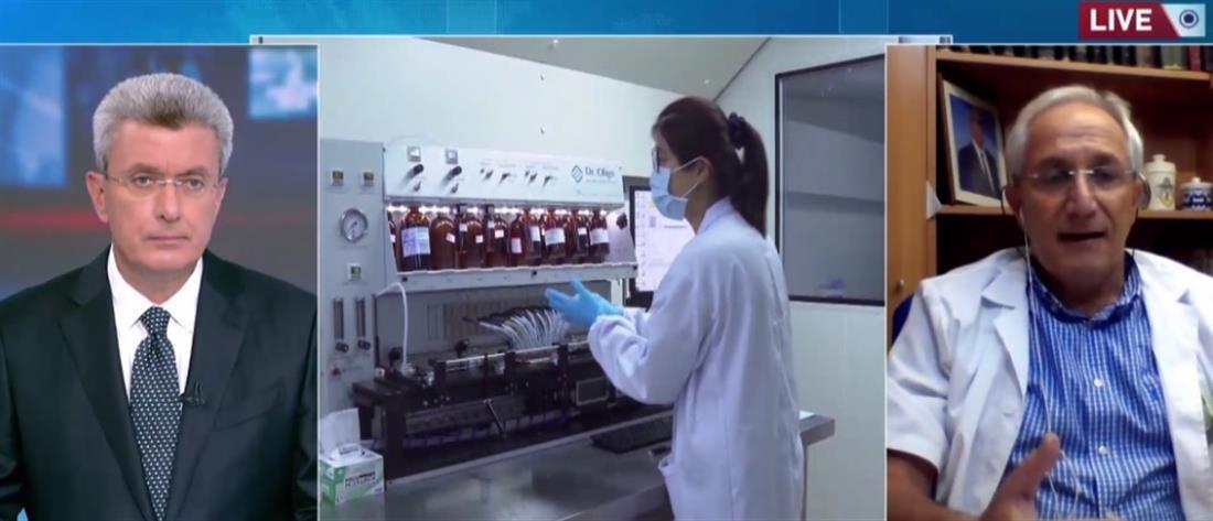 Ο Απόστολος Βαλτάς στον ΑΝΤ1 για τον κορονοϊό και το αντιγριπικό εμβόλιο (βίντεο)