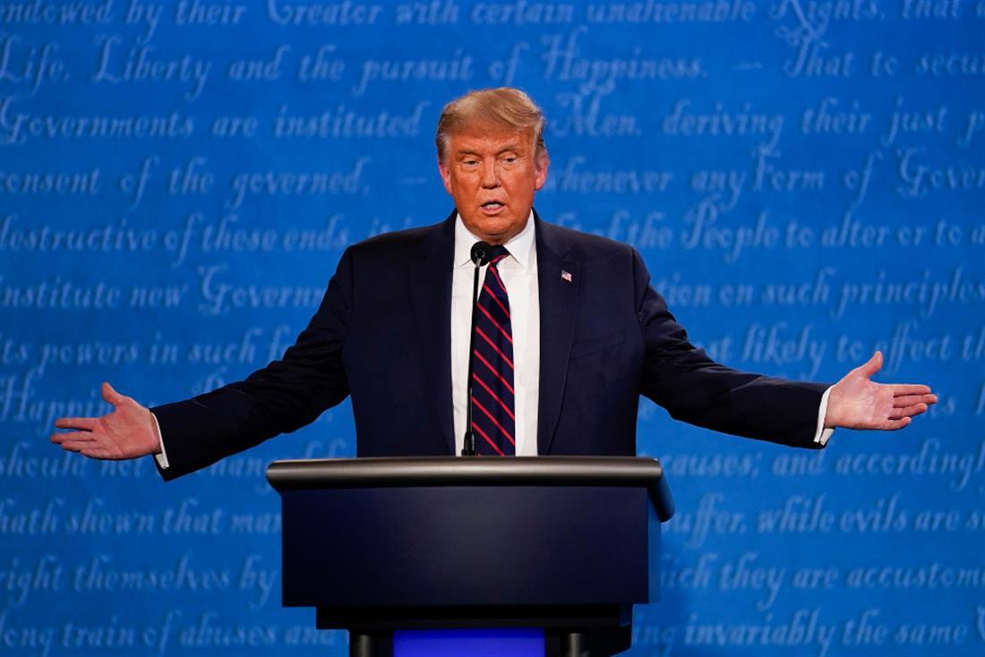 AP - Debate - Τραμπ