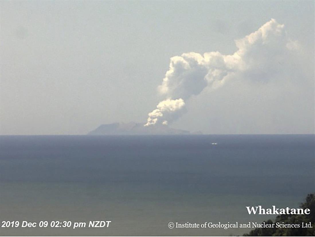 ηφαίστειο - Νέα Ζηλανδία - Γουακατάνε - Whakatane - White Island