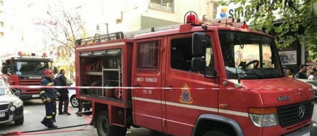 Φωτιά σε χώρο απορριμάτων μέσα στο ΑΠΘ