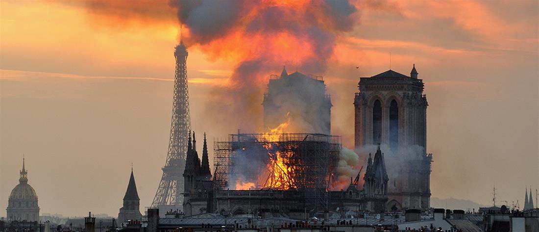 Μακρόν: Η Παναγία των Παρισίων θα ανοικοδομηθεί σε πέντε χρόνια