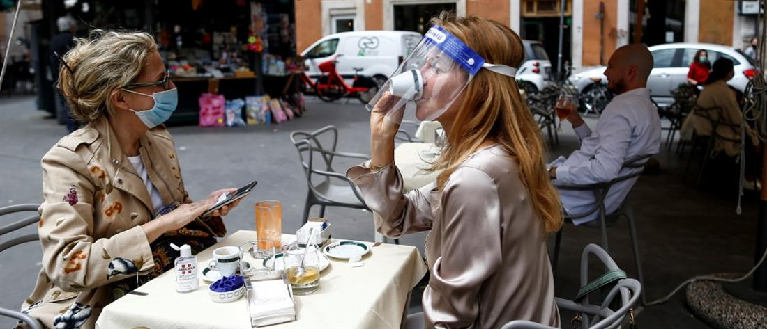 Κορονοϊός - Ιταλία: μείωση του ρυθμού μετάδοσης