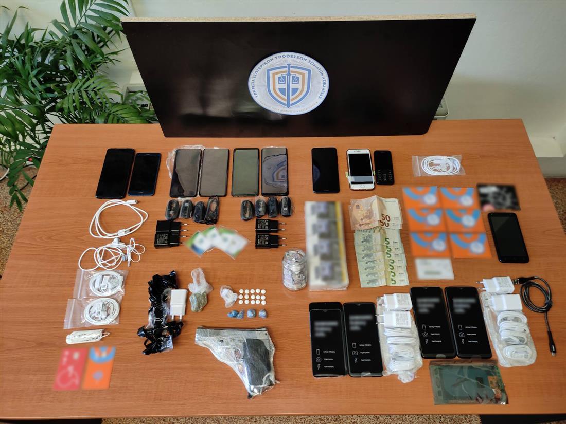 Φυλακές Κορυδαλλού - ναρκωτικά - κινητά