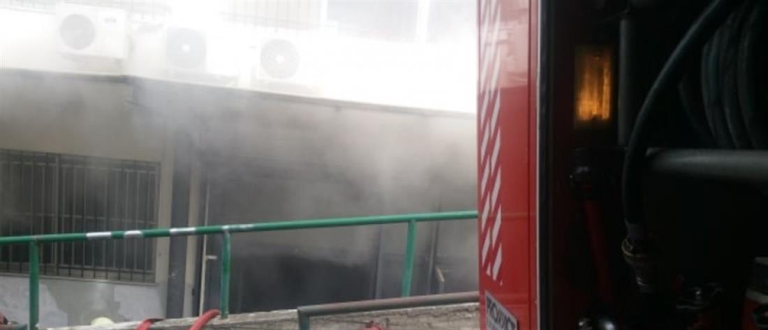Φωτιά στο ΑΠΘ (εικόνες)