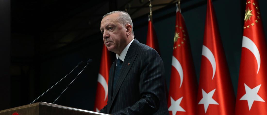 Ερντογάν: όσοι υψώνουν ανάστημα, θα πέσουν με την πρώτη φουρτούνα