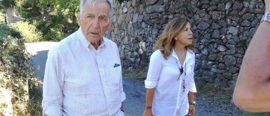 Στο πατρικό του στην Γορτυνία μετά από 25 χρόνια ο Κώστας Γαβράς (εικόνες)