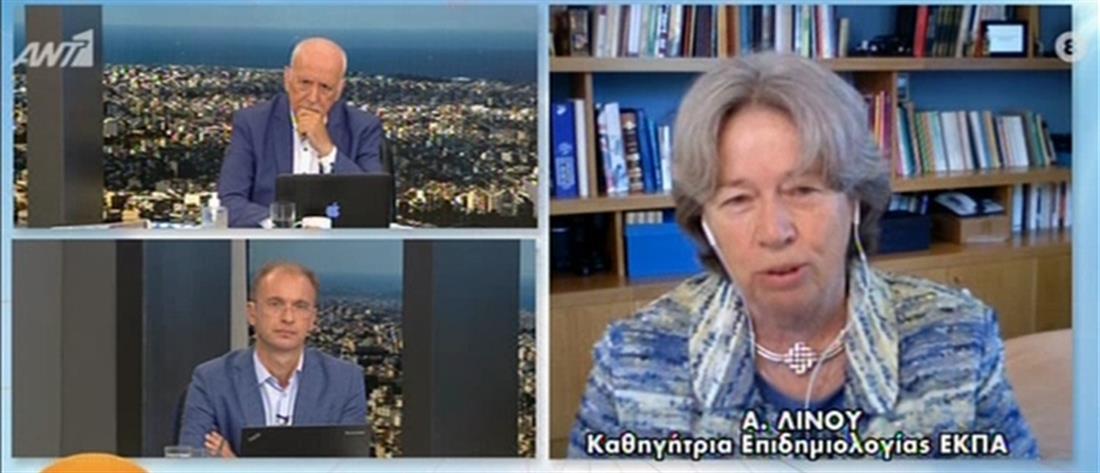 Κορονοϊός - Λινού: Επαναφορά της μάσκας και μέτρα που θα συζητηθούν