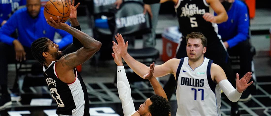 NBA: Οι Κλίπερς ξεπέρασαν Μάβερικς και Ντόνσιτς