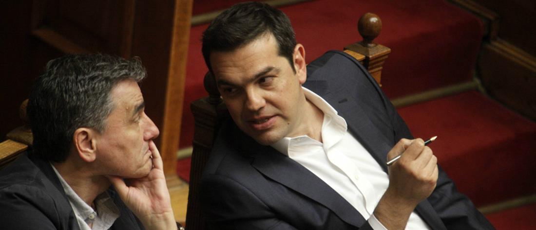 Τσίπρας σε Τσακαλώτο: Οι διαφωνίες μόνο στα κομματικά όργανα