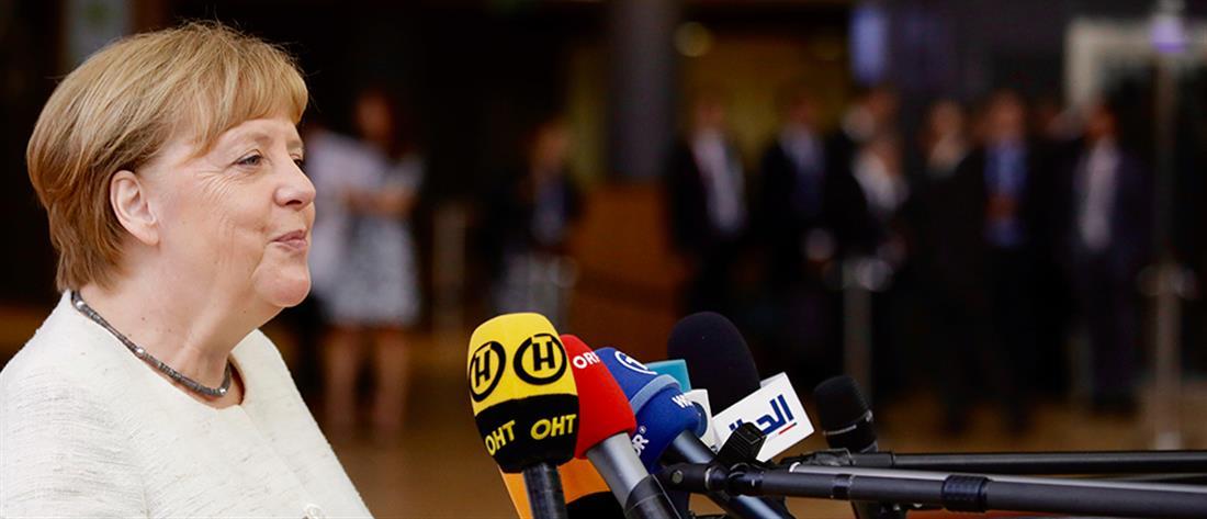 AP - Σύνοδος Κορυφής - Μέρκελ