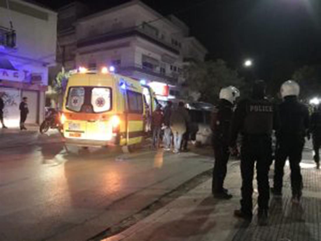 Τροχαίο ατύχημα - καταδίωξη οχήματος διακινητή - Αλεξανδρούπολη