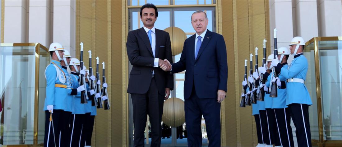 """""""Πακέτο Κατάρ"""" ύψους 15 δις δολαρίων στην Τουρκία"""