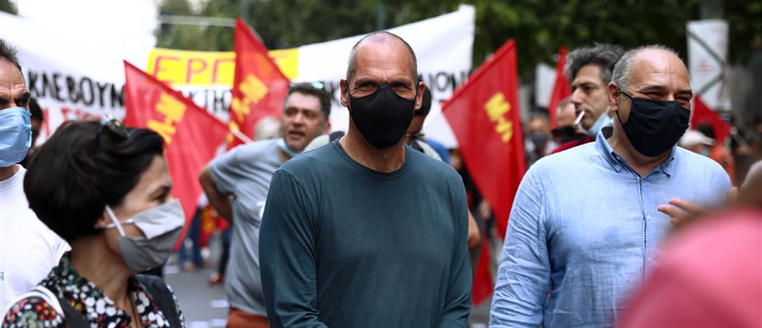 Βαρουφάκης - απεργία