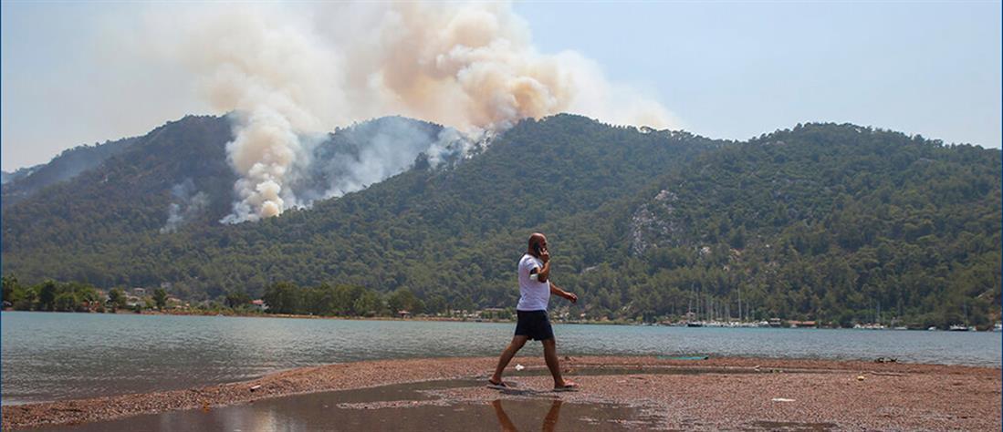 Τουρκία - φωτιές