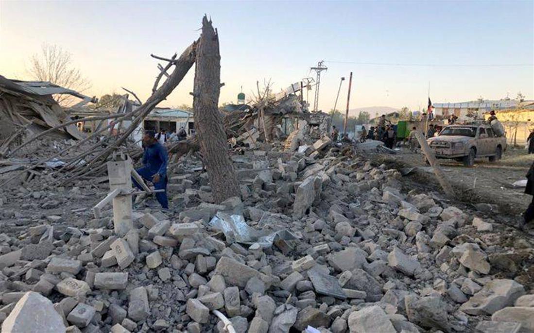 έκρηξη παγιδευμένου αυτοκινήτου - Αφγανιστάν