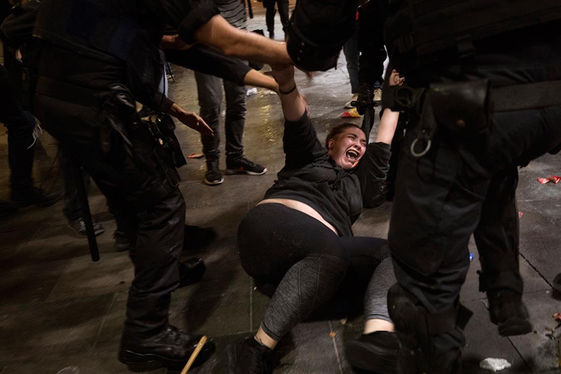 AP - Βαρκελώνη - διαδήλωση