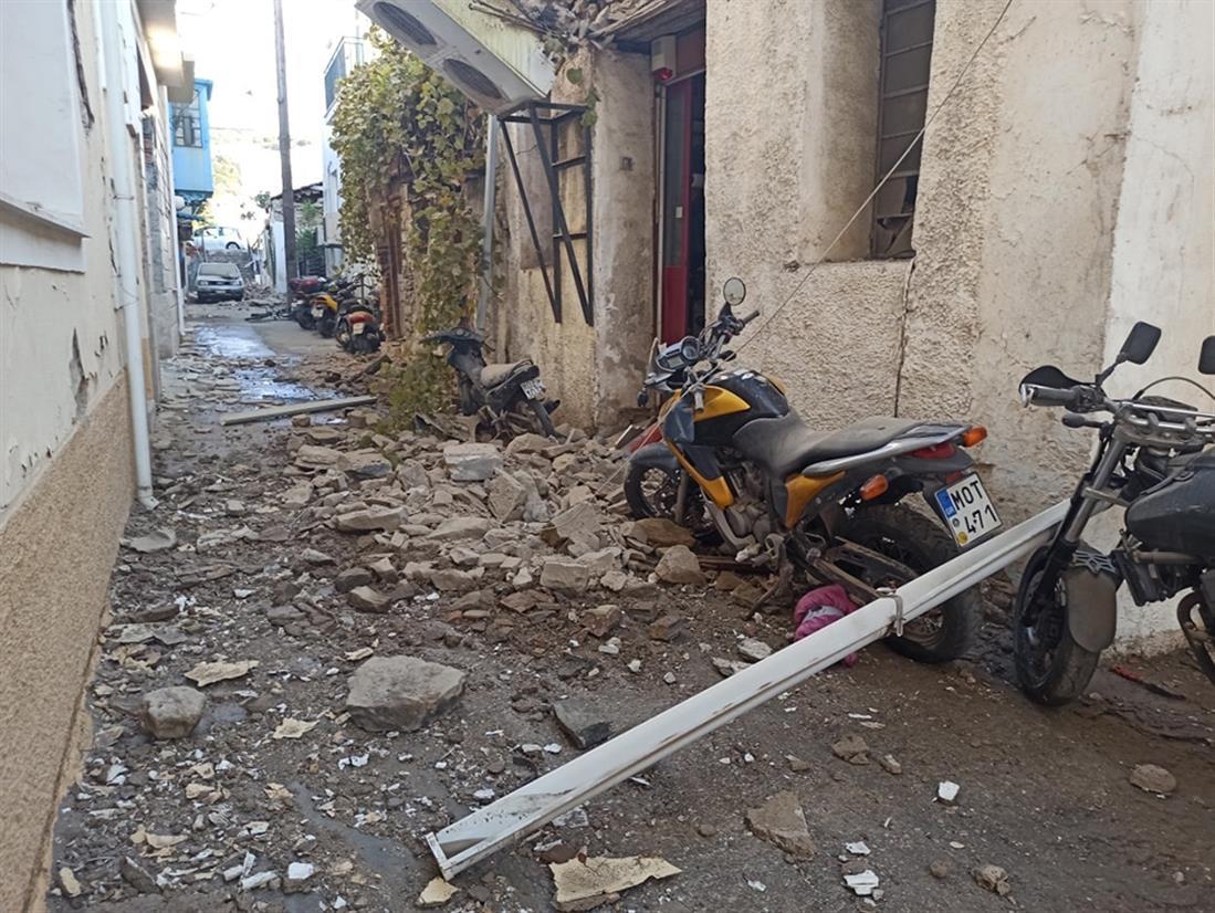 Σάμος - σεισμός - ζημιές