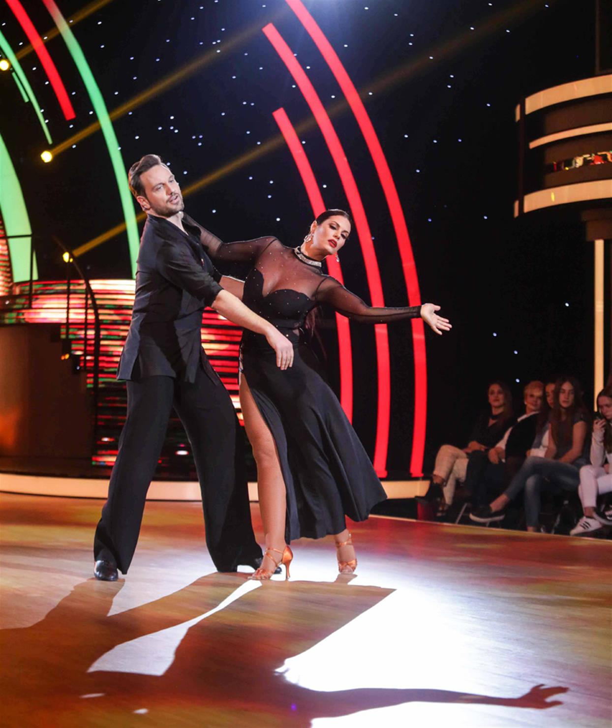 Μαρία Κορινθίου - DANCING WITH THE STARS - LIVE 1