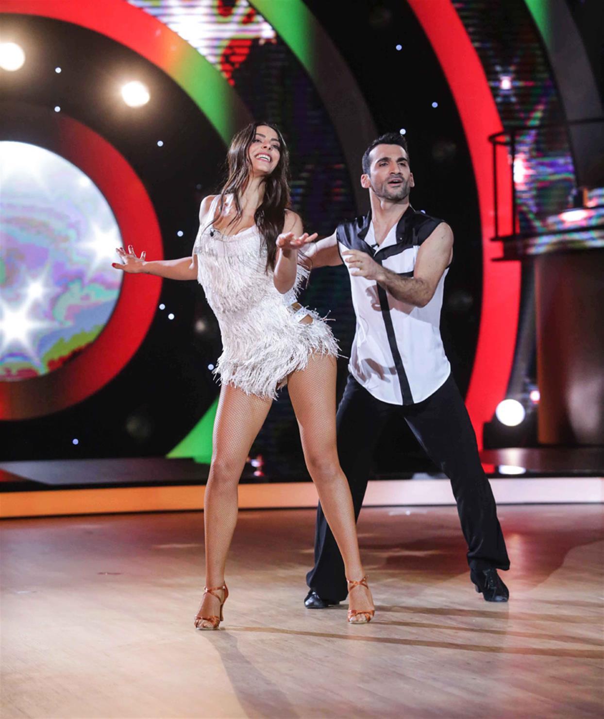 Μυριέλλα Κουρεντή - DANCING WITH THE STARS - LIVE 1