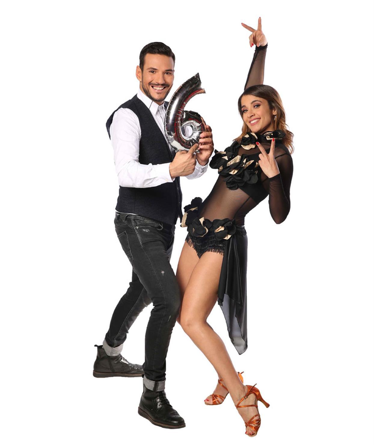 ΚΩΣΤΑΣ ΤΣΟΥΡΟΣ - ΜΑΡΙΑ ΤΣΙΤΟΥ - DANCING WITH THE STARS 6