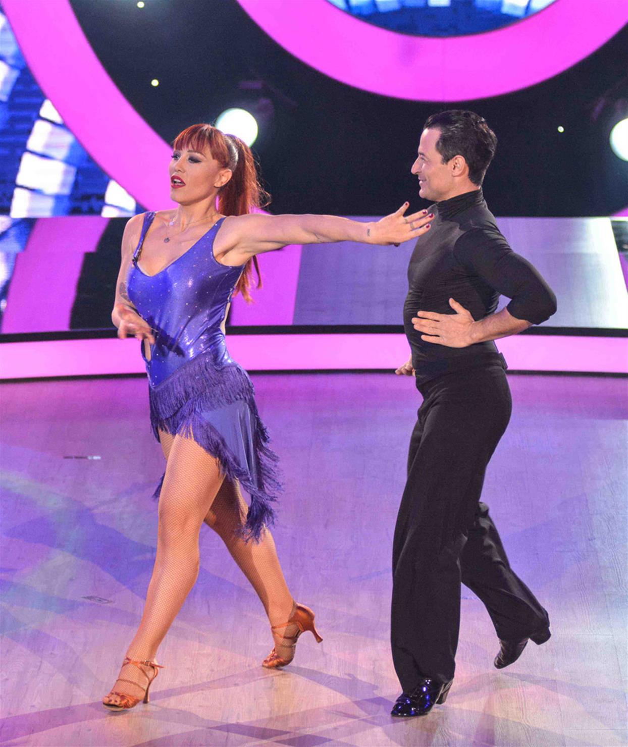 Πηνελόπη Αναστασοπούλου - DANCING WITH THE STARS - LIVE 1