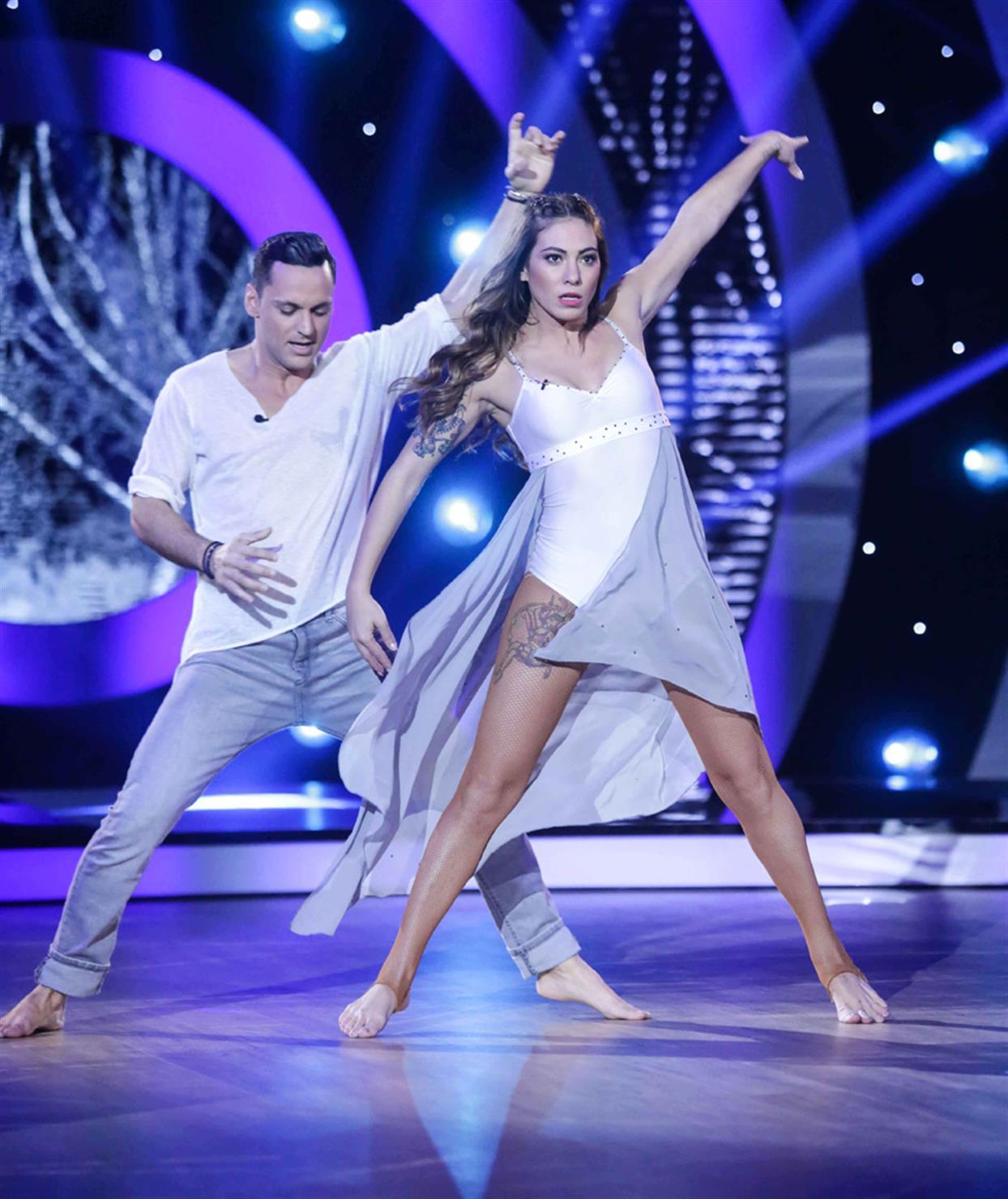 Ευρυδίκη Βαλαβάνη - DANCING WITH THE STARS - LIVE 1
