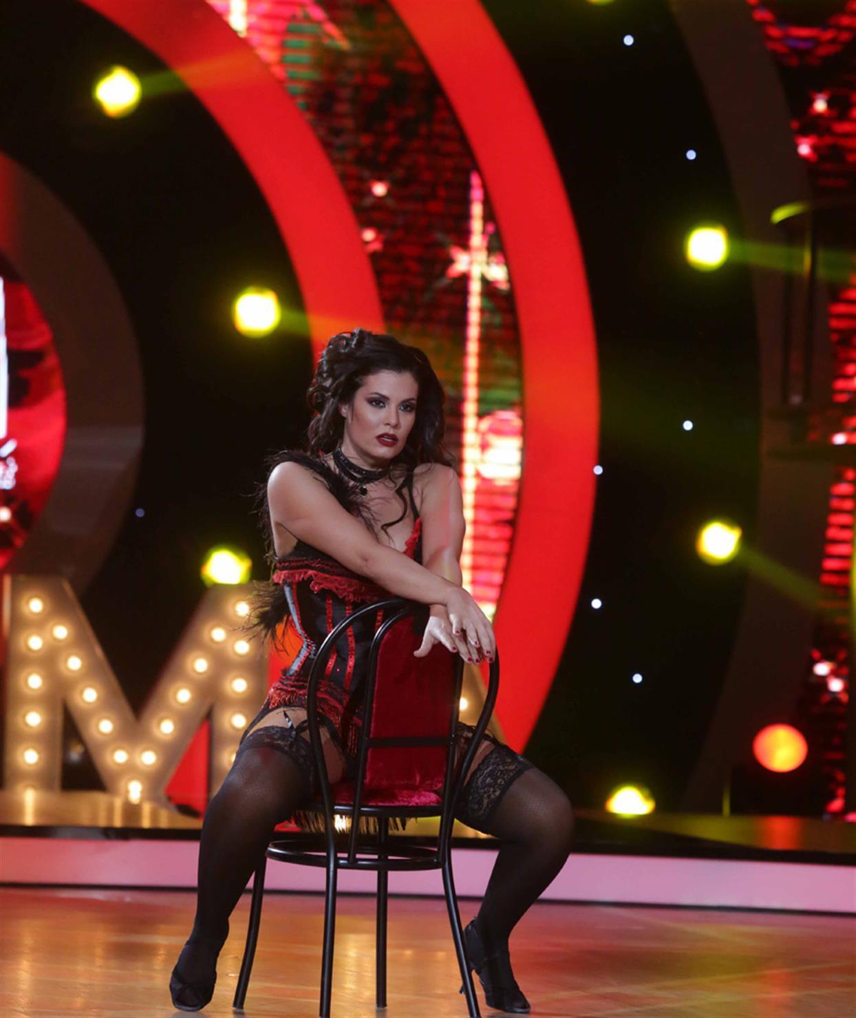 Μαρία Κορινθίου - Ηλίας Μπούτσης - DWTS LIVE 4