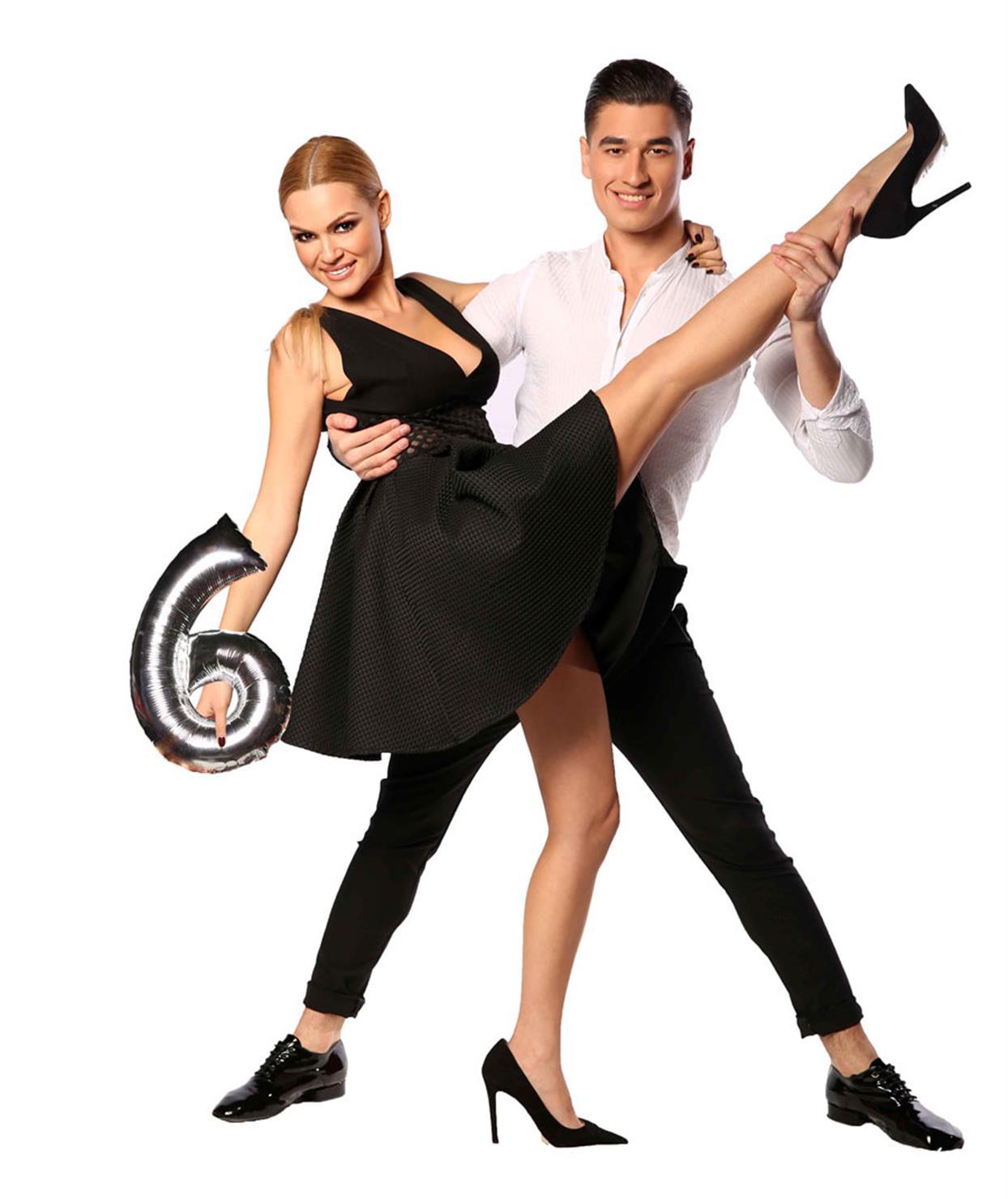 ΒΙΚΥ ΚΑΒΟΥΡΑ - ΓΙΩΡΓΟΣ ΚΕΤΣΕΡΙΔΗΣ - DANCING WITH THE STARS 6