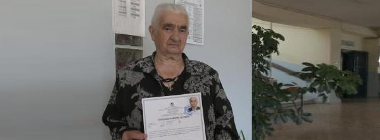 Σουλτάνα Γκέσιου: η γυναίκα που πήρε πτυχίο νοσηλεύτριας στα 87 της χρόνια