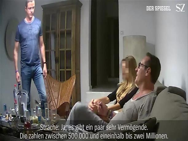 Το βίντεο που προκάλεσε την παραίτηση του Στράχε
