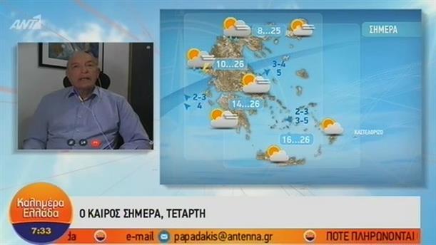 ΚΑΙΡΟΣ – ΚΑΛΗΜΕΡΑ ΕΛΛΑΔΑ - 31/10/2018