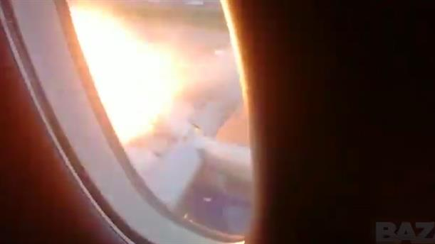 Σοκαριστικές σκηνές πανικού μέσα από το φλεγόμενο αεροπλάνο στη Μόσχα