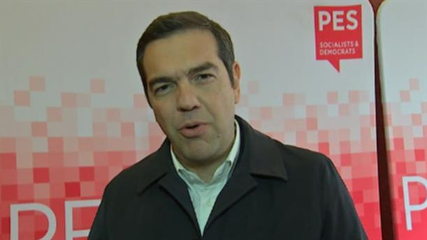 Δήλωση Τσίπρα στην Προπαρασκευαστική Σύνοδο του PES