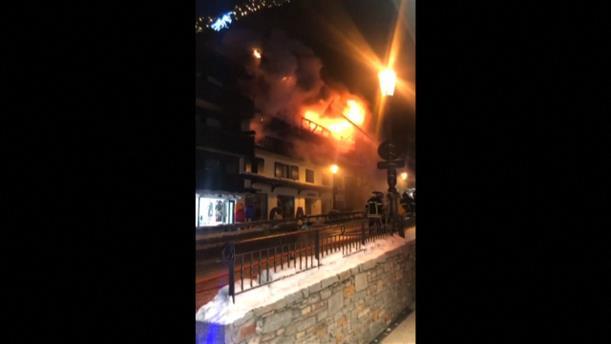 Φωτιά σε γαλλικό χιονοδρομικό κέντρο