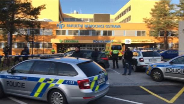 Επίθεση σε νοσοκομείο στην Οστράβα
