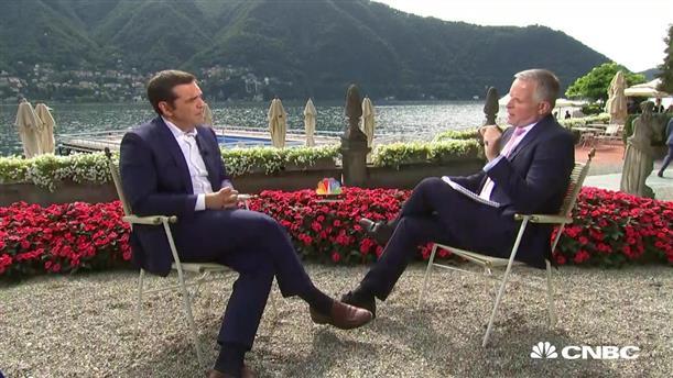 Όλη η συνέντευξη του Αλέξη Τσίπρα στο CNBC