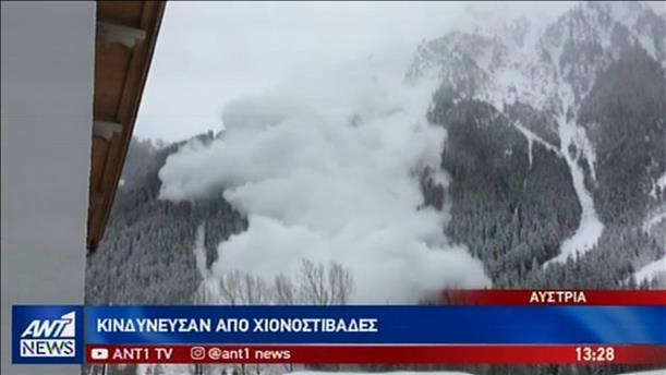 Σε κλοιό χιονιά πολλές ευρωπαϊκές χώρες