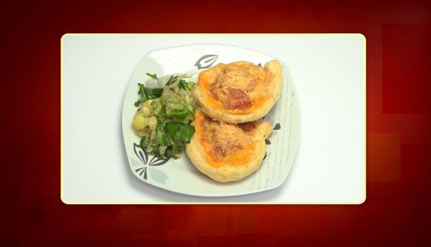 Ρολλάκια τυριών και αλλαντικών του Γιώργου - Ορεκτικό - Επεισόδιο 39