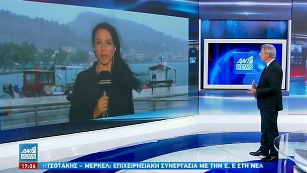"""""""Ιανός"""": μεγάλες καταστροφές στη Ζάκυνθο"""