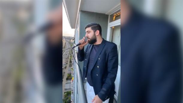 Κορονοϊός: Αρμένιος τραγουδιστής ερμηνεύει Νίκο Βέρτη και γίνεται viral