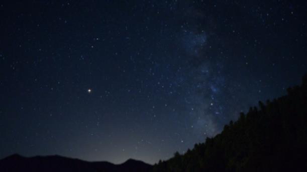 H βροχή αστεριών στον ελληνικό ουρανό
